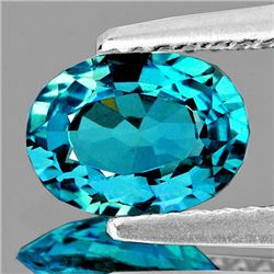 Natural Intense Cambodian Blue Zircon 2.06 Cts