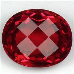 Stunning Red Topaz 30.25 carats - VVS