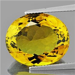 Natural Whisky Golden Yellow Citrine 14.90 FL