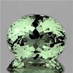 Natural Healing Green Color Amethyst 20.80 Ct - FL