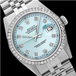 Rolex Ladies Stainless Steel, Diamond Dial & Diamond Bezel, Sapphire Crystal - REF-426N3A