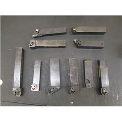 Lot of Misc Indexable Lathe Tool Holders