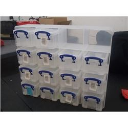 16 Slot Plastic Organizer