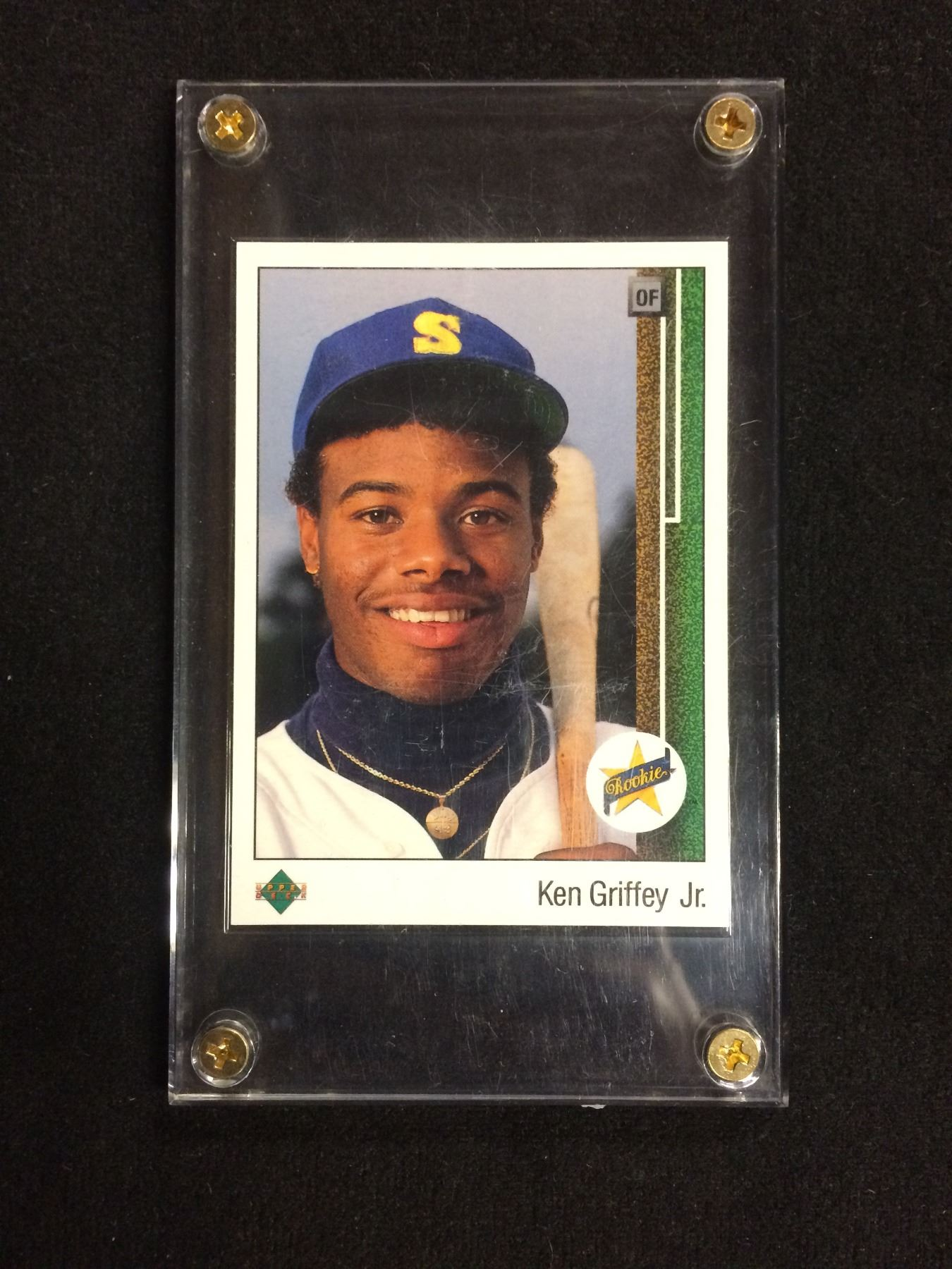 1989 Upper Deck 1 Ken Griffey Jr Rookie Seattle Mariners Card