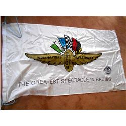 Indy Motor Speedway Racing Flag 3x5