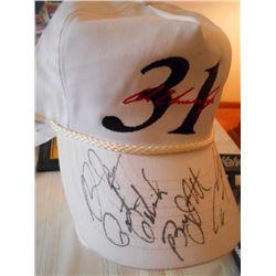 #31 White Automotive Nascar hat