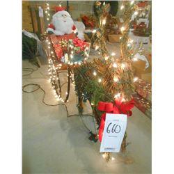 Light-up Santa Sleigh