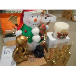 Large Christmas Decoration Lot/Mostly New