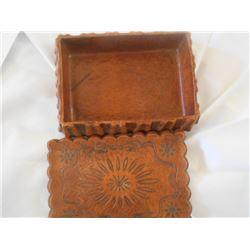 Southwest Style Box Resin