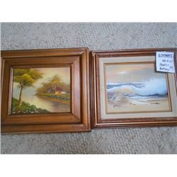 Signed Oil Paintings in Frame