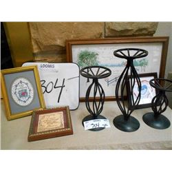 Art and Candle Holders