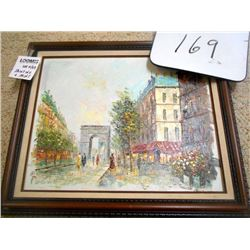 T. Carson Oil Painting Values at $2 -300.00