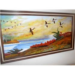 Large Oil Paintng Signed by W. Wininsky