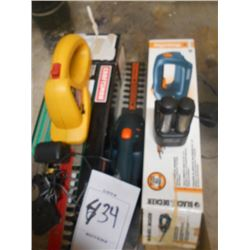 Craftsman/B&D/Rc Hedge Trimmers