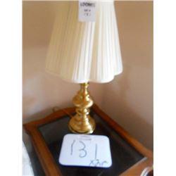 Heavy Brass Table Lamps
