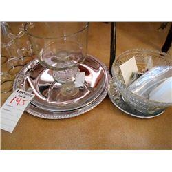 Misc Glasswares Lot