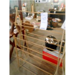 Wooden Vintage Clothes Drying Rack