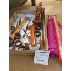 Assorted Desk & New Umbrellas  Lot