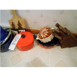LARGE COOKWARE & BAKEWARE LOT