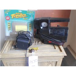 New Mini Battery Charger & Air compressor