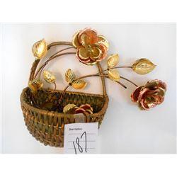 Wall Basket & Copper Dec