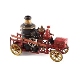 Hubley Cast Iron Fire Engine Pumper c. 1920 RARE