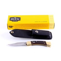 Buck 110 Automatic Push Button Knife New in Box