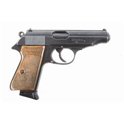 WWII German Walther PP .32 ACP Officers Pistol