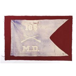 Civil War Era Medical Division Battle Flag
