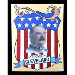 Grover Cleveland Campaign Folk Art Poster