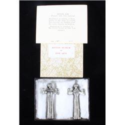Boston Museum Of Fine Arts 80% Silver Monk Taper