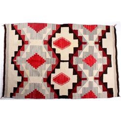 Ganado Navajo Native American Rug c. 1900-