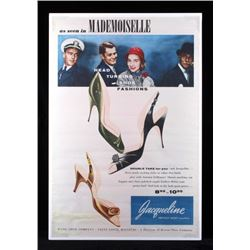 Original Wohl Shoe Company Advertising Poster
