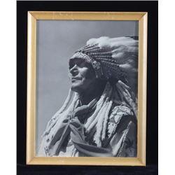 Original Native American Photograph Omaha Nebraska