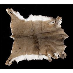 Montana Whitetail Deer Tanned Hide