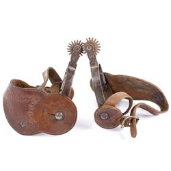 August Buermann Forged Steel Spurs 1880-1915