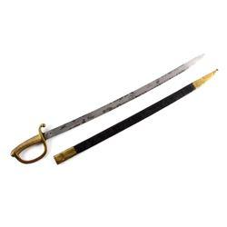 1888 Spanish Artillery Short Sword