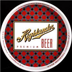 Highlander Premium Beer Tray Missoula Montana