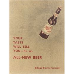 Billings Brewing Company - Billings Gazette Promo