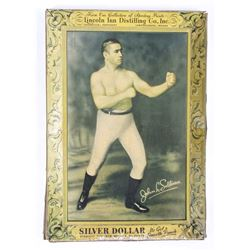 Silver Dollar Bourbon Counter Top Advertisement