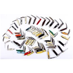 57 Piece Pocket Knife Collection