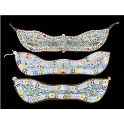 Chinese Peranakan Floral Beaded Collars (3)