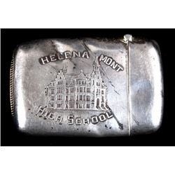 Sterling Helena Mont High School Match Safe