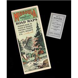 Early Tourist Maps of Montana