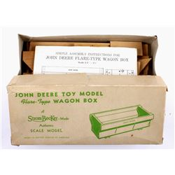 Original In The Box Strombecker John Deere Wagon