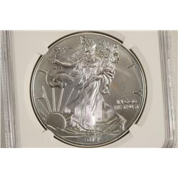 2014 AMERICAN SILVER EAGLE NGC MS70 EARLY RELEASES