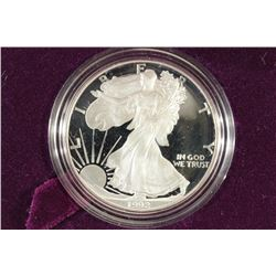 1992-S PROOF AMERICAN SILVER EAGLE