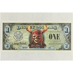 SERIES 2007 DISNEY DOLLAR PIRATES OF THE CARIBBEAN