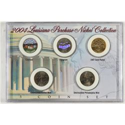 2004 LOUISIANA PURCHASE NICKEL COLLECTION