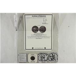 283-285 A.D. CARINUS ANCIENT COIN VERY FINE